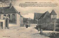 FONTAINE-LA-GAILLARDE - L'entrée du village, côté de Sens