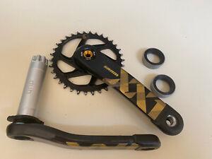 SRAM XX1 Eagle DUB X-SYNC2 MTB Bike Crankset 175mm 34T 12s w/ PF 92 BB Gold