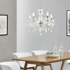 lux.pro® Kristall Kronleuchter Lüster Deckenleuchte Hängeleuchte Leuchte Weiß