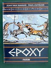 CUVELIER VAN HAMME Epoxy eo couleur 1997 + cahier dossier supplément