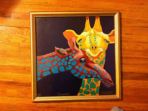 """""""Compatible,""""Signed Art Print-Signed by Betsy M. Fowler, Betsy Obert- Circa 1994"""