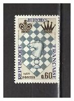 s24872a) FRANCE 1966 MNH** Chess 1v