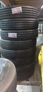 11r24.5 16 Ply Semi Tires Virgin Rubber 11 R24.5 Kapsen Trailer Set Of 8