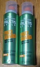 2 Garnier Hair Care Fructis Style Frizz Guard Anti-Frizz Dry Spray, 3.1 Ounce