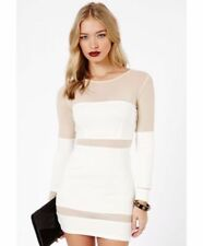 Missguided Long Sleeve Stretch Dresses for Women
