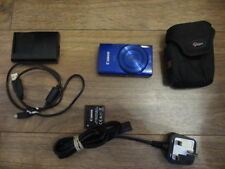 "Canon IXUS 180 20MP Compact Digital Camera Dark blue 2.7"" LCD screen A+"