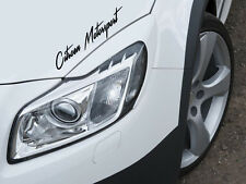 Citroen Motorsport auto pegatinas sticker lámina Sports Mind Limited Edition