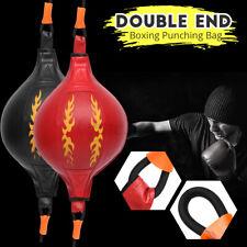 Double Ball Boxing Exercise Punching Bag Swivel Gym Fitness Sport Training