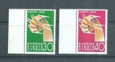 CYPRUS STAMPS COMPLETE SET EUROPA 2006 MNH