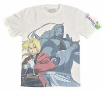 **Legit** Fullmetal Alchemist Brotherhood Ed & Al Authentic Anime T-Shirt #83313