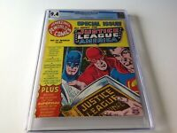 AMAZING WORLD OF DC COMICS 14 CGC 9.4 WHITE PAGES JUSTICE LEAGUE DC COMICS
