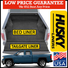 Husky Liners For 07-13 GMC Sierra 1500 /& More QuadCaps Bed Rail Protector 97121