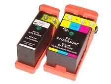 2 CARTUCCE DELL 21/22/23/24 COMPATIBILE PER DELL P513w V313 V313w V515w P713w