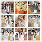 NEW Fashion Lady Girls Vintage Long Soft Chiffon Scarf Wrap Shawl Stole Scarves