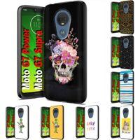 Thin Gel Design Phone Case Cover for Motorola moto g7 power,TAB Graphic Print