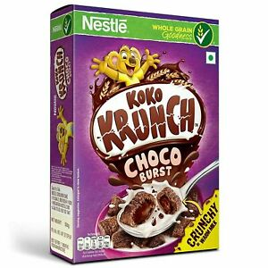 Nestle Koko Krunch Breakfast Cereal Choco Burst Flavour For Kids 500 gm