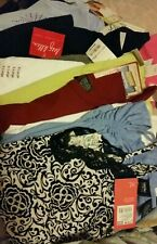 Women's clothing Lot Size XL Shirts Designers New With Tags Spring Summer 10item