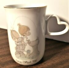 "Precious Moments ""Love Lifted Me"" Cup with Handle"