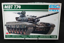 YC051 ESCI 1/35 maquette tank char 5024 MBT T74