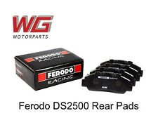 Ferodo DS2500 Rear Brake Pads for Mitsubishi Evo 9 2.0T 2005-07 (Brembo Caliper)
