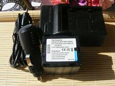 Battery + Charger For Panasonic PV-GS34 PV-GS35 PV-GS36 PV-GS39 MiniDV Camcorder