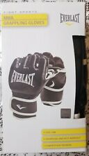 Everlast MMA Grappling & Mitt Workout Gloves Competition Training - S/M Black