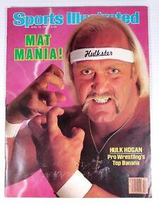 Sports Illustrated April 29 1985 Hulk Hogan WWF Wrestling Mat Mania