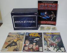 STAR TREK : KLINGON BIRD OF PREY, MAKING OF DS9, COMICS, SMALL MODELS BUNDLE
