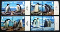 Brit. Antarktis BAT  2013 Pinguine Penguins Vögel Birds 632-639 MNH