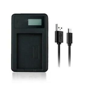 USB Battery Charger NP-FV50 For Sony HDR-CX190 HDR-CX190E HDR-CX200 HandyCam