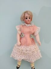 "Antique  6"" French JULES VERLINGE LIANE BISQUE  HEAD  Doll 1920,s    (Blonde)"