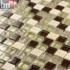 mosaïque MURO VERRE PIERRE NATURELLE carreau / Mat 30 x 30 x 0,8 cm