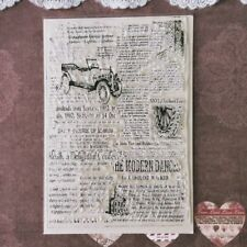 Newspaper Clear Silicone Rubber Stamp Cling Diary Scrapbooking Card DIY Decors