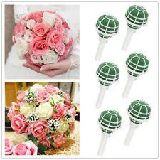 6pcs Wedding Bouquet Bridal Posy Oasis Wet Foam Flowers Floral Holder Decoration