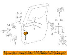 TOYOTA OEM Front Door-Handle Inside Cushion 9054104014