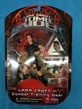 "Lara Croft: Tomb Raider Movie Combat Training Gear 6"" action figure - Playmates"
