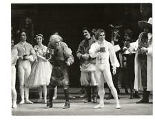 RUDOLF NUREYEV BALLET DANCE SCENE, VINTAGE PHOTO