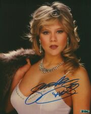 Samantha Fox 8 x 10 Autographed Photo COA singer songwriter ActressTouch Me