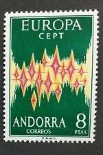 MOMEN: ANDORRA CEPT # 1972 MINT OG NH $150 SINGLE LOT #2914