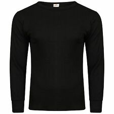 MENS THERMAL LONG SLEEVED VESTS TOPS