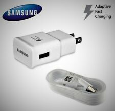 Samsung OEM Fast Rapid Charger + 5 Ft Cable for Galaxy S6 S7 Edge Note 4 Note 5