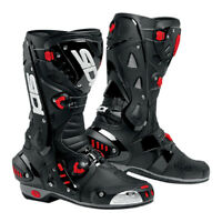 SIDI VORTICE BLACK MOTORCYCLE RACE RACING TRACKDAY SPORTS BIKE MOTORCYCLE BOOTS