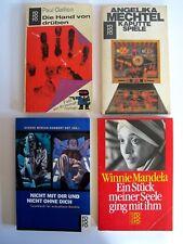 Konvolut 4 Rowohlt Taschenbücher Bücher Romane Lesestoff K0758