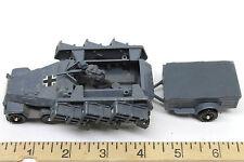 Vintage Corgi Toys German Hanomag Sdkfz 251/1 Semi-Track Rocket Launcher w/Wagon