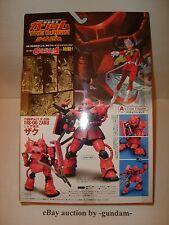 Mobile Suit Gundam The Origin Action Figure 02 MS-06 Char's Custom Zaku Bandai