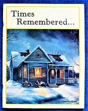 Times Remembered 13 Paint Pattern Book Dorothy Dent Landscapes Sawscapes  Unused