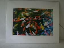 ORIGINAL SIGNED ABSTRACT PHOTOGRAPH TITLED TEMPLE FISH BY FISHDRAGON 003/100.