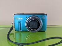 Canon PowerShot SX260 HS 12.1MP Digital Camera - Green - UNTESTED