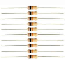 10 Pack - 10K 10,000 Ohm Ω Resistor 5% Tolerance 1/4W 1/4 Watt Carbon Film PK