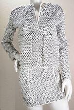 Skirt Suit Set Size XS Black White Texture Print Nanushka Budapest